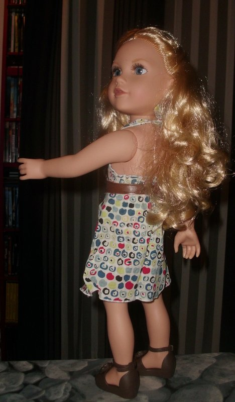 Et voici Meredith qui a emprunté la robe de Prune Jumeprom...