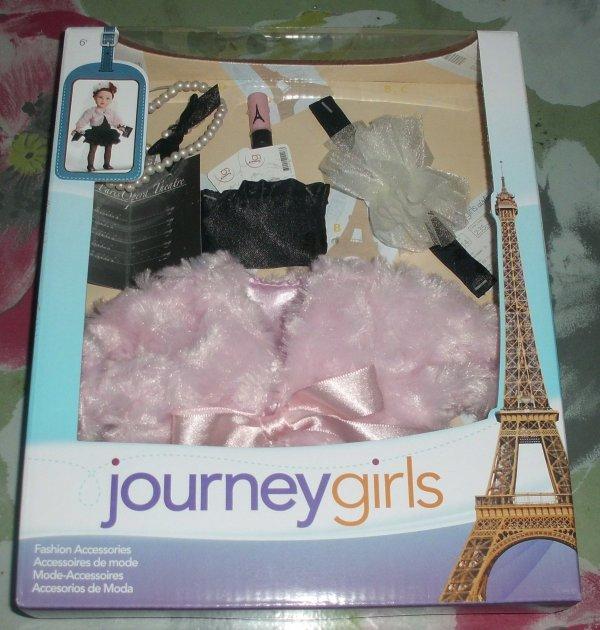 Dernièrs achats pour mes Journey Girls.