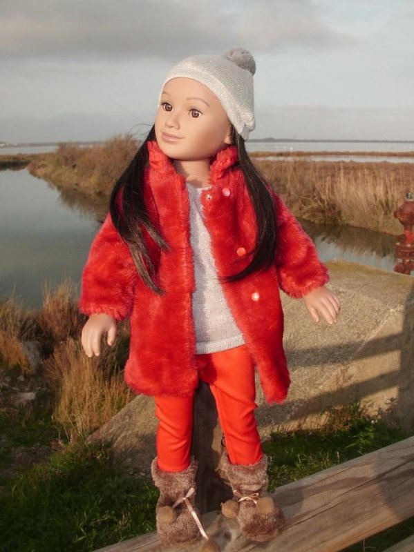 Pita en rouge promenade aux étangs...