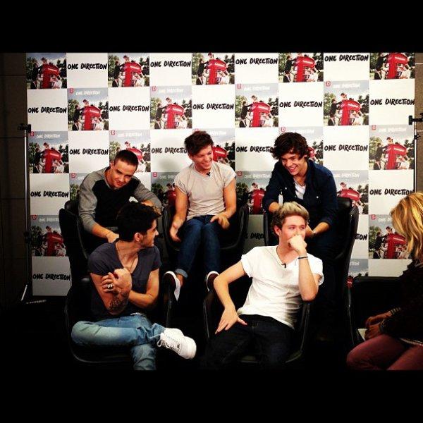 One Direction il y a quelques jours.