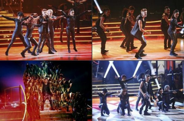 le 25 septembre, Justin a performé  dans  l'émission Dancing with the Stars.