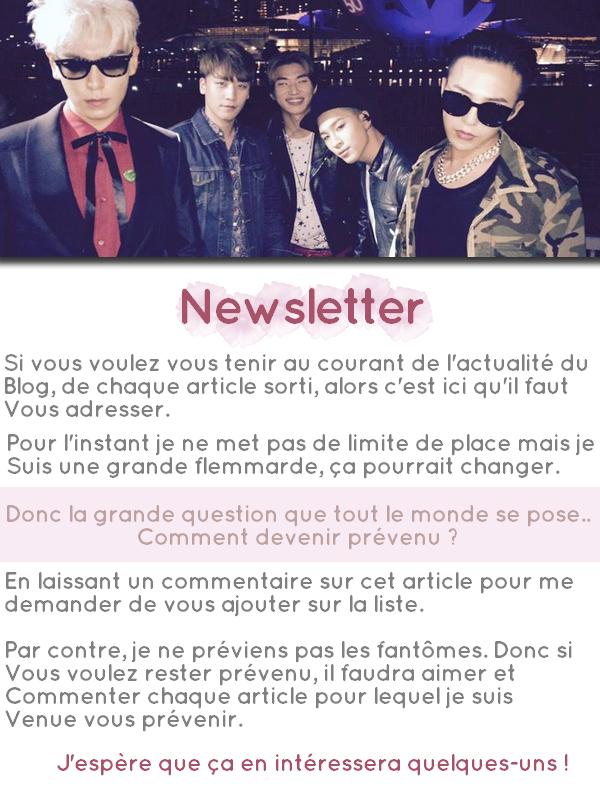 Newsletter : Inscriptions Ouvertes.