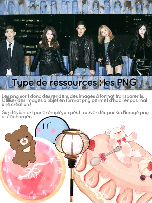 Type de Ressources : les PNG