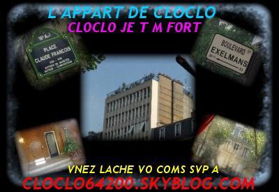 CLOCLO LE BOULEVARD EXELMANS