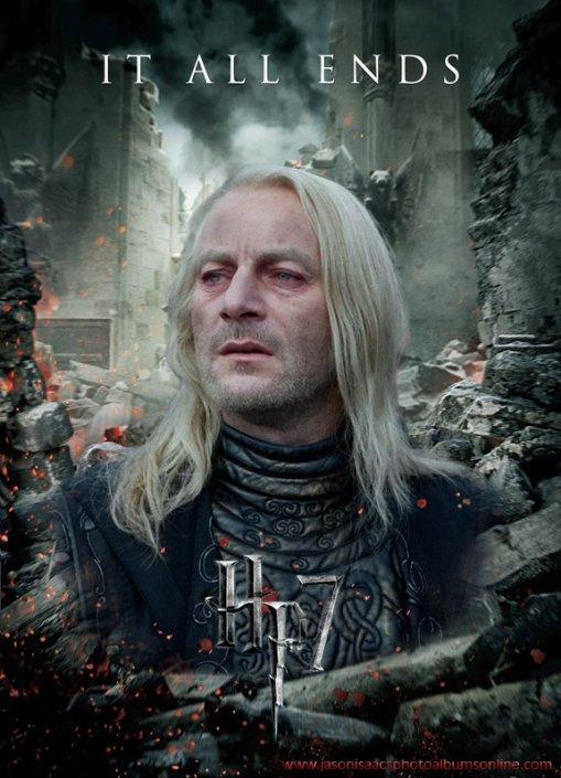 Affiche Harry Potter et les reliques de la mort
