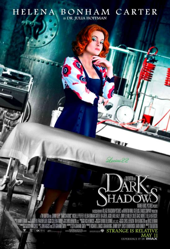 Dark Shadows : Les affiches