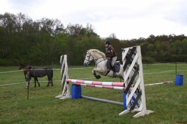 Petite séance d'obstacle à la maison -> 20 avril 2012