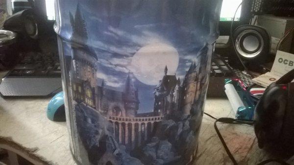 Corbeille à papier Harry Potter et la chambre des secrets offert par mon neveu