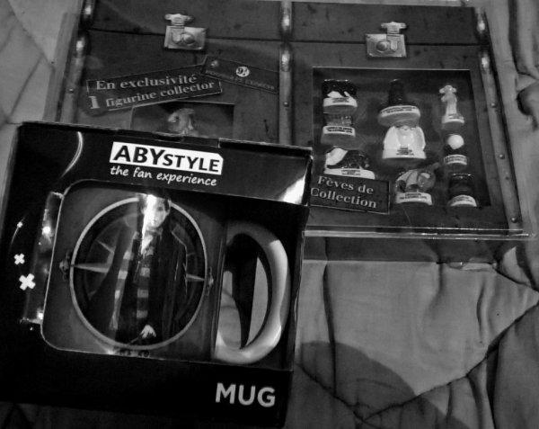 Mes cadeaux de Noel en rapport avec le monde des sorciers :)