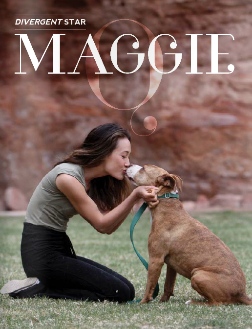 Maggie Q pour Origin Magazine