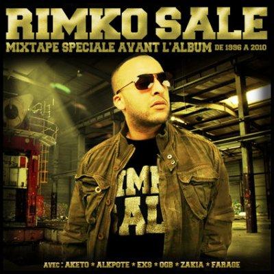 MIXTAPE SPECIAL RIMKO SALE AVANT L'ALBUM EN TELECHARGEMENT GRATUIT SUR www.rimkosale.new.fr