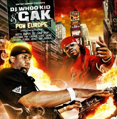 "AKETO SUR ""POW EUROPE"" DOUBLE ALBUM DE GAK & DJ WHOO KID"
