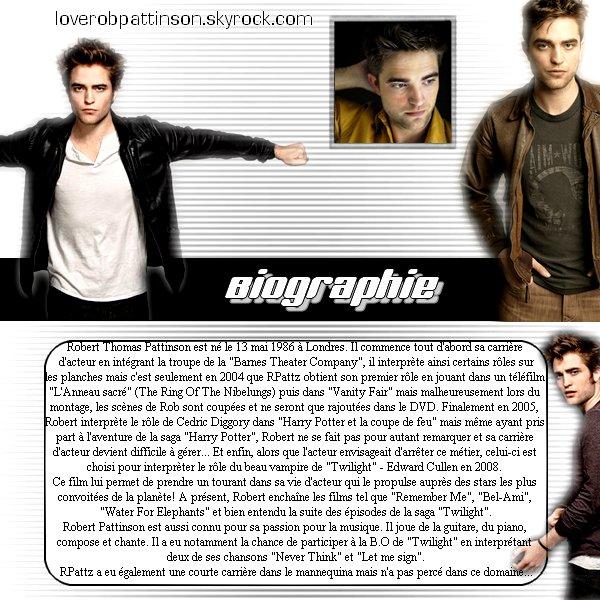 En quelques mots, qui est Robert Pattinson?