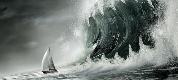 La tempête s'est-elle déchaînée dans ta vie, les vagues te semblent-elles trop hautes ?