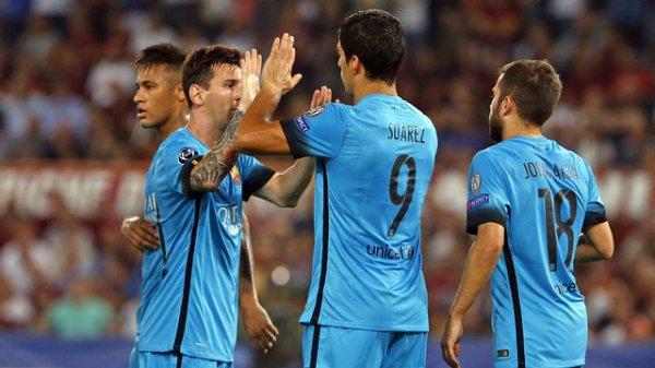 AS Rome – FC Barcelone: Un nul pour commencer (1-1)