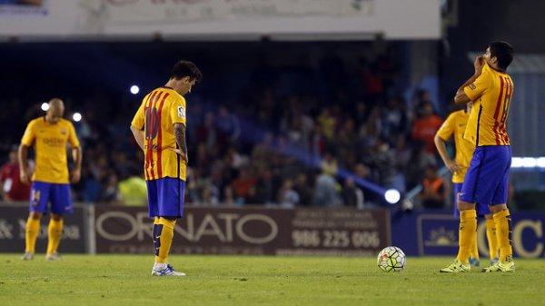 Celta de Vigo – FC Barcelone: Un jour sans pour le Barça (4-1)