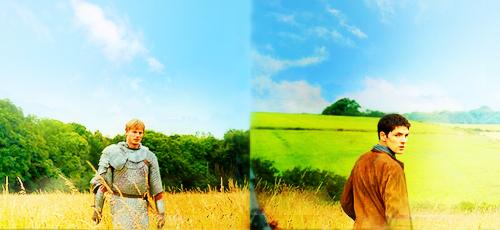 Merlin c'est quand même trop bien. ♥ (image tumblr)