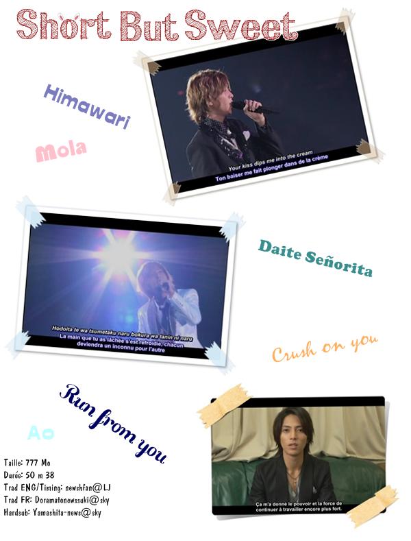 [YAMASHITA TOMOHISA] DVD- Short But Sweet