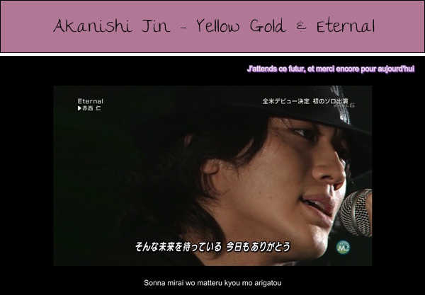 [TEGOMASS / AKANISHI JIN] Music Station 18.02.2011