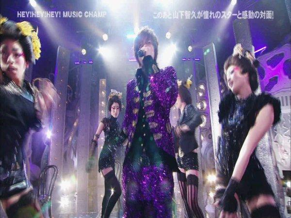 [YAMASHITA TOMOHISA] Hey! Hey! Hey!- Interview + Performance (31/01/2011)