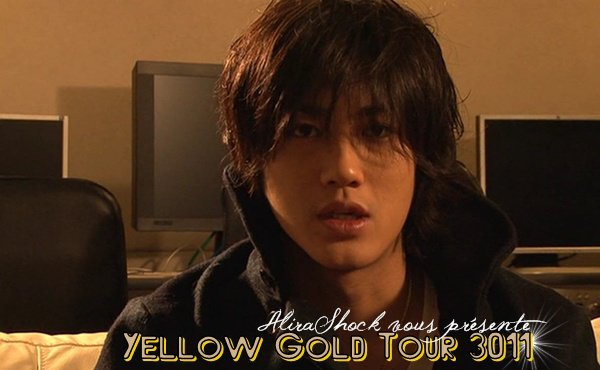 [AKANISHI JIN] YELLOW GOLD TOUR 3011