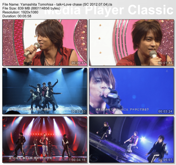 Shounen Club Yamapi Love Chase by Aiko !