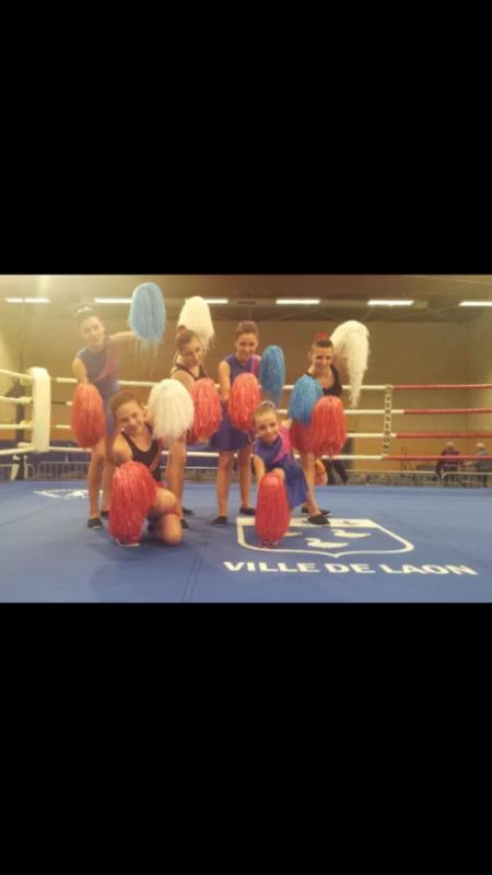 prestation lors d un gala de boxer dans notre ville
