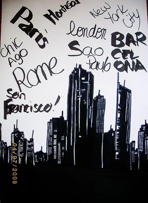 Les grandes villes. :)