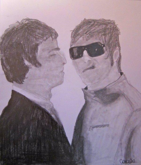 Liam et Noel Gallagher
