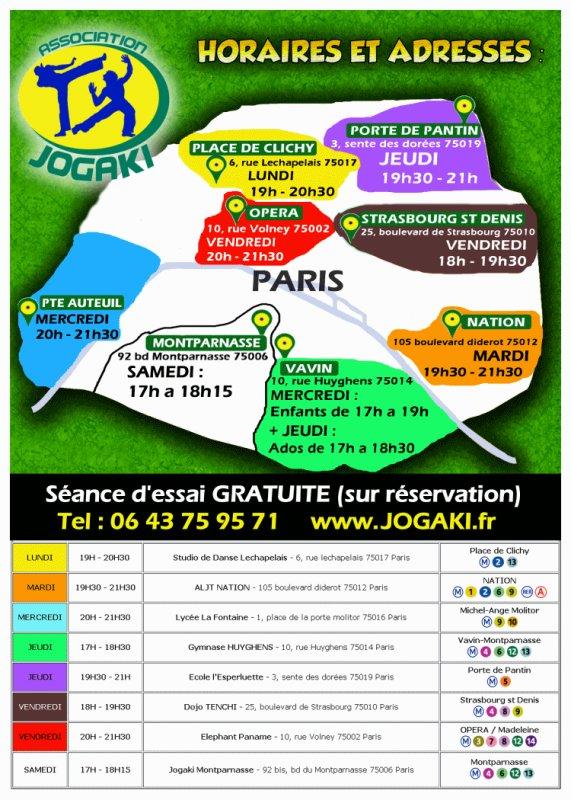 Rentrée 2013 2014 Jogaki Capoeira Paris