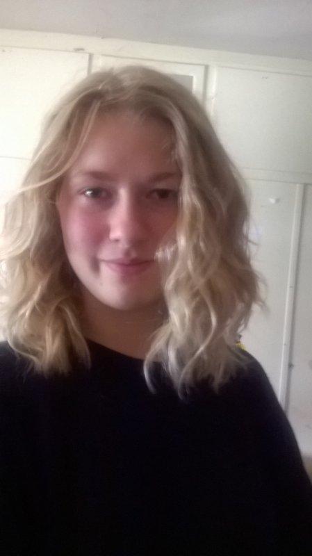 moi les cheveux frisé 💘