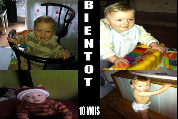 BIENTOT 10 MOIS MA CRAPOUILLE QUE TU DEVIENT GRAND