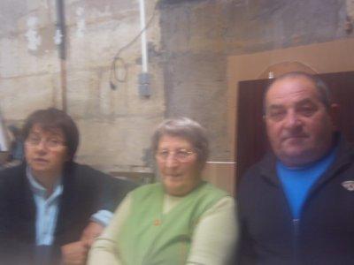 ma tante ma grand mère et mon padre