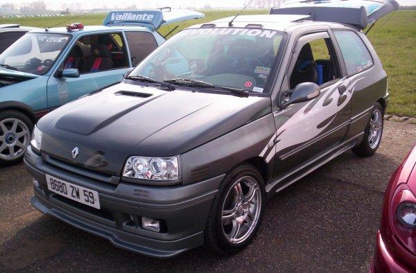 Clio en 2004.