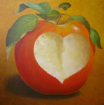 L'amour c'est comme une pomme :