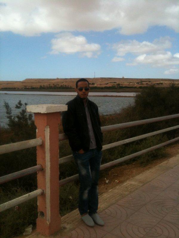 moi au Sahara