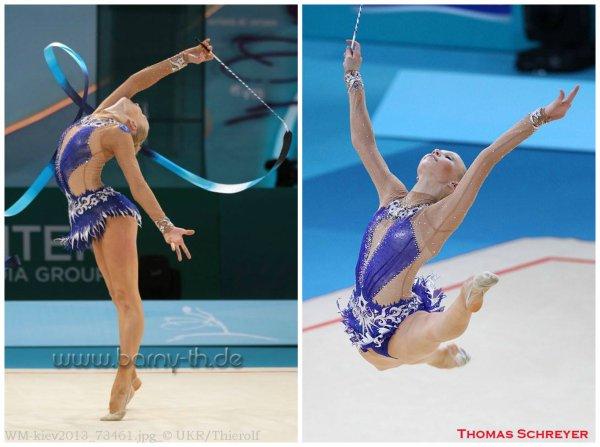 Kiev finales à 24 individuelles: Kséniya Moustafaeva, 12ème