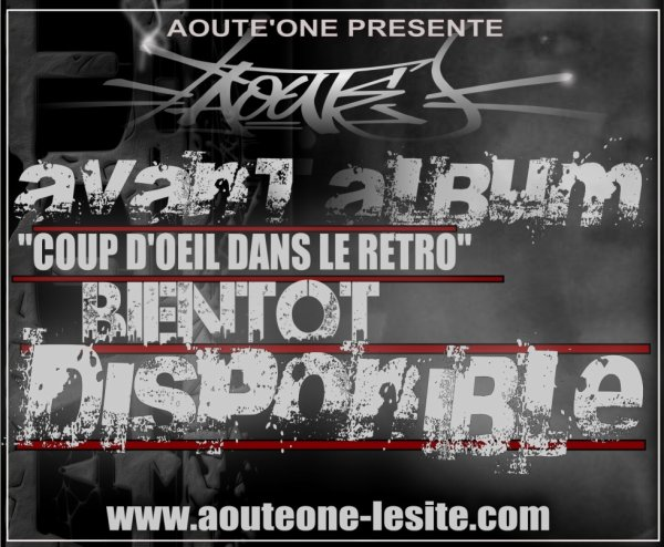 AOUTE'one en finalisation de son avant album,