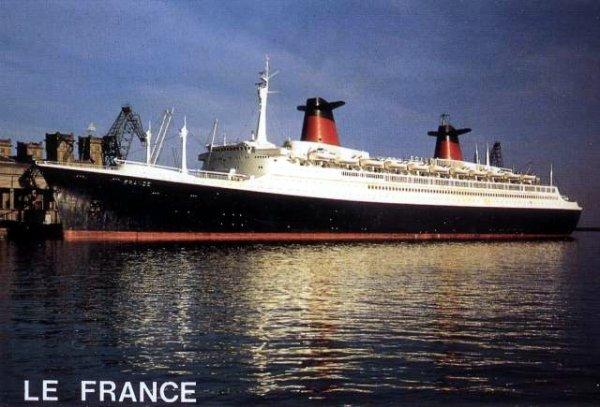PAQUEBOT FRANCE - NORWAY - HUMOUR - LOISIRS - TOURISME