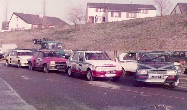 4 Mars 1984 - 1er SLALOM PTS DE PRIX-LES-MEZIERES (08)