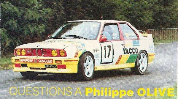 Questions à Philippe OLIVE (Compte-Tours N° 46 / Février 1994)