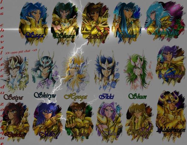 les chevaliers de bronze et les chevaliers d'or