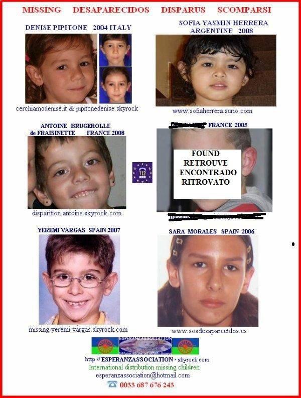 COMMENT AIDER ET SOUTENIR LES ACTIONS DE L'ASSOCIATION POUR RETROUVER LES ENFANTS DISPARUS