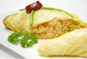 Recette: L'omelette au riz moemoe