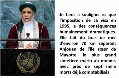 COMORES : 2nd  ANNIVERSAIRE DU 101ème  DEPARTEMENT FRANÇAIS