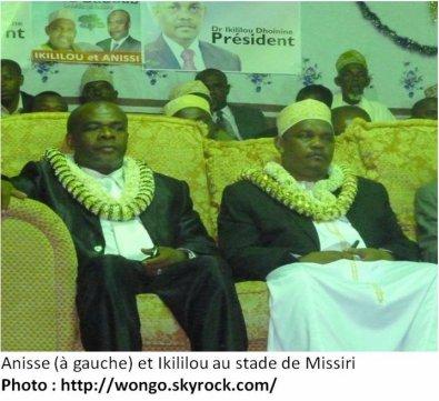 Comores / Résultats provisoires des élections harmonisées à ANJOUN