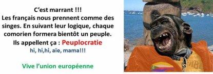 COMORES : RESPECTER LE CHOIX DU PEUPLE MAHORAIS - QUEL CHOIX, QUEL PEUPLE ?