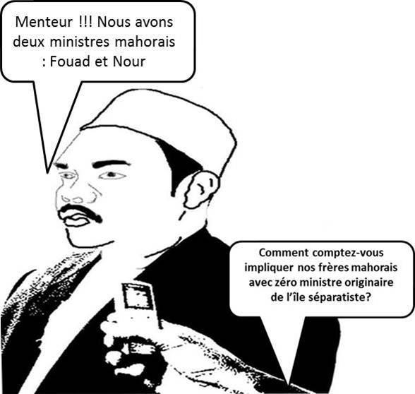 COMORES / MAYOTTE : La stratégie mensongère d'IKI