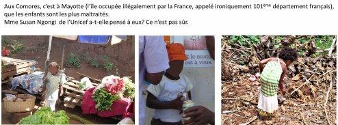 COMORES : Le visa Balladur, source de soumission des enfants aux travaux dangereux