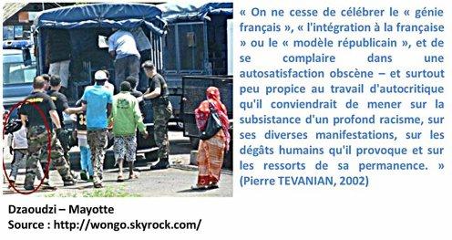 COMORES : La production du racisme  à Mayotte par l'Etat français